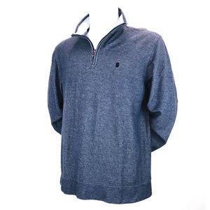 IZOD Saltwater Blue Relaxed Classics Shirt L